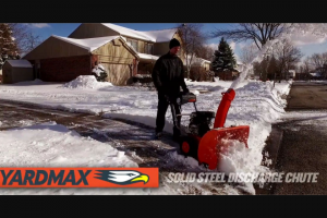 On The House – Carey Bros Winter Giveaway – Win 2-Stage Snow Blower with Dashboard MSRP / ARV $649.00