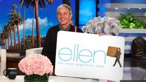Ellen Tube – Win a $250 ellenshop.com Gift Card