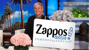 Ellen Tube – Win a $300 Zappos Gift Card
