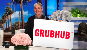 Ellen Tube – Win a $500 Grubhub Gift Card