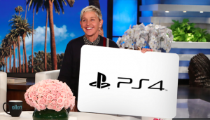 Ellen Tube – Win a Sony PS4