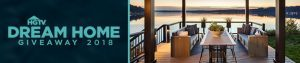 HGTV – Dream Home 2018 – Win a home located in Gig Harbor, WA valued at $1,592,481 plus Cash & a Honda Accord automobile