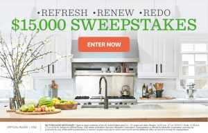 Meredith – Better Homes & Gardens – Win a $15,000 check