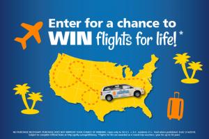 Allegiant – Getaway Car – Win Life (for winner only) on Allegiant