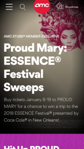 Amc – Proud Mary Sweepstakes