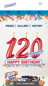 Bimbo Bakeries – Entenmann's 120th Birthday Celebration – Win Entenmann's product for a year