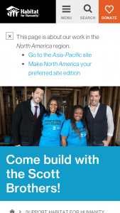 Habitat For Humanity – 2018 Home Is Key Build With The Scott Brothers Sweepstakes