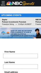 Nbc Sports – Lake Placid – Win trip for Grand Prize Winner and one guest to attend the Team USA Olympic Winter Wonderland in Lake Placid NY