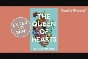 Penguin Random House – The Queen Of Hearts – Win one Advance Reader Copy of  The Queen of Hearts by Kimmery Martin Prize Approximate Retail Value $5