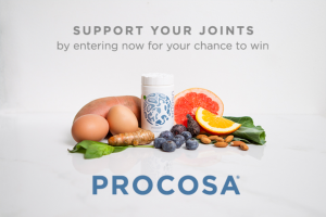 Usana – Procosa January 2018 – Win one (1) bottle of USANA Procosa® which contains twenty eight (28) tablets