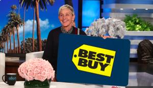 Ellen Tube – Win a $300 Best Buy Gift Card
