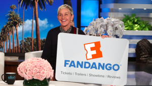 Ellen Tube – Win a $300 Fandango Gift Card