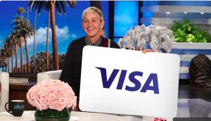 Ellen Tube – Win a $300 Visa Gift Card