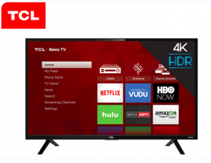 Ellen Tube – Win a 55″ 4K TCL Roku TV
