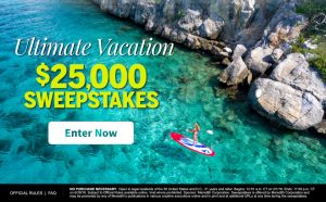 Meredith – Fitness Magazine – Win $25,000 for the Ultimate Vacation