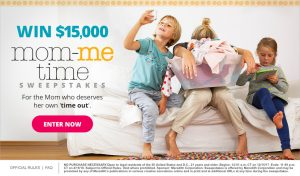 Meredith – Parents – Win $15,000 mom-me time