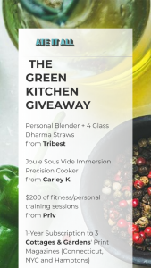 ATE IT ALL – THE GREEN KITCHEN Sweepstakes
