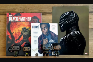 CNET Magazine – Black Panther Giveaway Sweepstakes