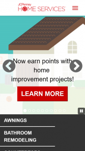 JCPENNEY – HOME SERVICES – Win (10) winners will each be awarded one $500.00 JCPenney gift card which may be used at a JCPenney Store or at jcpcom