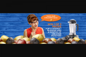 LITTLE POTATO – EAT YOUR VEGETABLE GIVEAWAY Sweepstakes