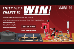 MIDWAY USA – 2018 RELOADING – Win Classic Single Stage Press Deluxe Kit (approx