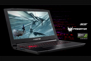 PC GAMER – ACER PREDATOR HELIOS 300 GAMING LAPTOP GIVEAWAY – Win one Acer Predator Helios 300 Gaming Laptop