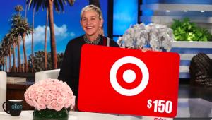 Ellen Tube – Win a $150 Target Gift Card