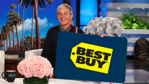 Ellen Tube – Win a $300 Best Buy Gift Card