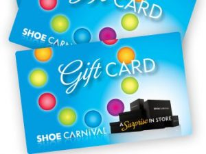 Shoe Carnival – Win a major prize package valued at $599 OR other minor prizes