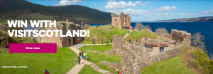 Visit Scotland – Win a trip for 2 to Scotland