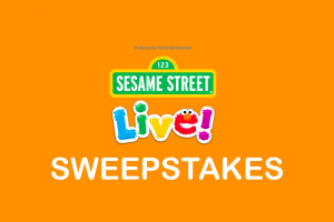 ALLEGIANT AIR  – SESAME STREET LIVE TOUR Sweepstakes
