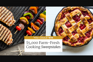 AMERICA'S TEST KITCHEN – FARM FRESH COOKING GIVEAWAY – Win beef & organic chicken cast iron cookware gardening & outdoor supplies online cooking courses and $1000 CASH