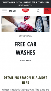 AP51 – JAY LENO'S GARAGE FREE CAR WASHES FOR A YEAR GIVEAWAY – Win (12) Gallons of either Vehicle Wash