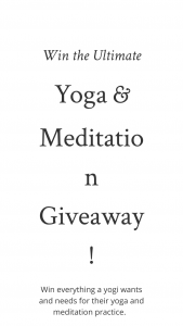 Babaji Central – Ultimate Yoga Meditation Giveaway – Win value of $2500) Yoga clothing accessories and meditation tools