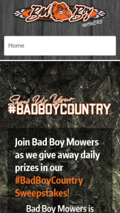 BAD BOY MOWERS – AMERICA'S BAD BOY COUNTRY – Win Boy Mower