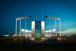 Commerce Bank – Royals Mastercard 50th Season – Win (26) Dugout Suite tickets for winner and (25) guests for the Kansas City Royals home game played on August 24 2018 (13) premium parking passes for use at Kauffman Stadium on the date of the game