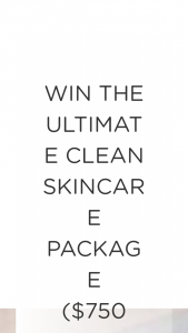 COOLS – ULTIMATE CLEAN SKINCARE PACKAGE FROM REN SKINCARE – Win value of $750) Prize value of $770 in Ren Skincare products