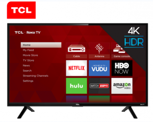 Ellen Tube – Win a 55″ 4K HDR TCL Roku TV