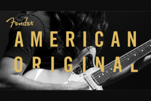 FENDER – AMERICAN ORIGINAL CONTEST Sweepstakes