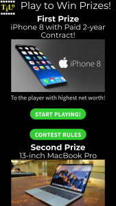 Geek Games – Tilo Game Contest – Win one Apple iPhone 8 mobile phone with a paid two-year contract at a major US carrier ARV of $3000 USD).