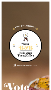 HOMEAWAYCOM – BEDANDBREAKFASTCOM BEST B&B BREAKFAST TOURNAMENT – Win a $500 Visa Gift Card