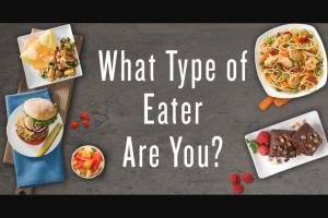 JENNY CRAIG – EATING STYLE QUIZ Sweepstakes