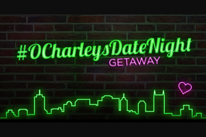 O'Charley's – #ocharleysdatenight – Win prize of a trip for two to Nashville TN from June 6 2018 to June 12 2018.