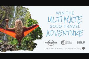 PENGUIN RANDOM HOUSE LONELY PLANET – SOLO TRAVEL – Win $500 flight voucher for one