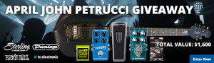 American Musical Supply – Win a huge all-Petrucci guitar package valued at $1,600