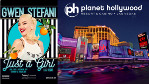 Ellen Tube – Win a 3-day stay at Planet Hollywood & tickets to see Gwen Stefani