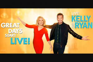 ABC Live With Kelly & Ryan – Dance Party Trivia Web Edition – Win be a merchandise package from Cuisinart valued at approximately $1200