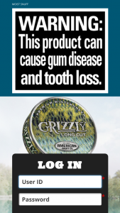 American Snuff Company – Grizzly 2018 Fishing Expedition Challenge Alaska Contest – Limited Entry – Win a fishing trip to Alaska on August 5-9  2018.