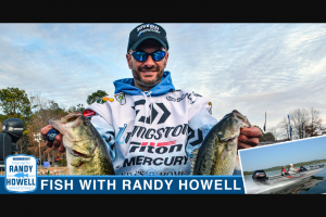 Bassmaster Bass – Fish With Randy Howell – Win a prize package consisting of One trip package for one person