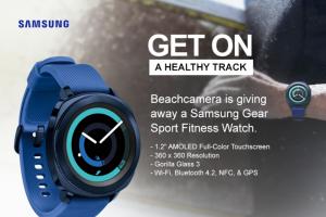 Beach CameraSamsung Gear Sport Fitness Watch Sweepstakes – Win ASamsung Gear Sport Fitness Watch
